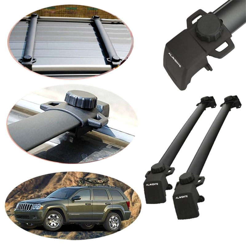 2x Roof Rack Cross Bars For Jeep Compass Necessary Mounting Hardware  Included. To Top